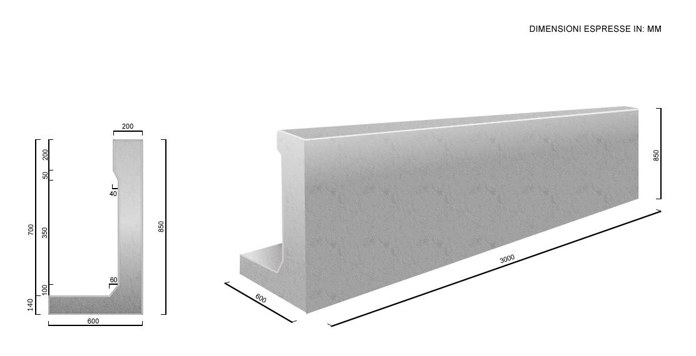 Omarini manufatti in cemento for Cordoli per giardino